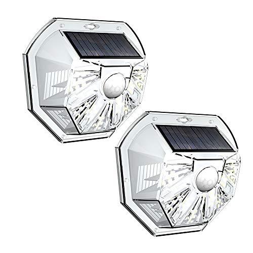 VOSONX Solar Lights Outdoor - Wireless Light Sensor & Motion Sensor Light, 40 LEDs Solar Powered LED...