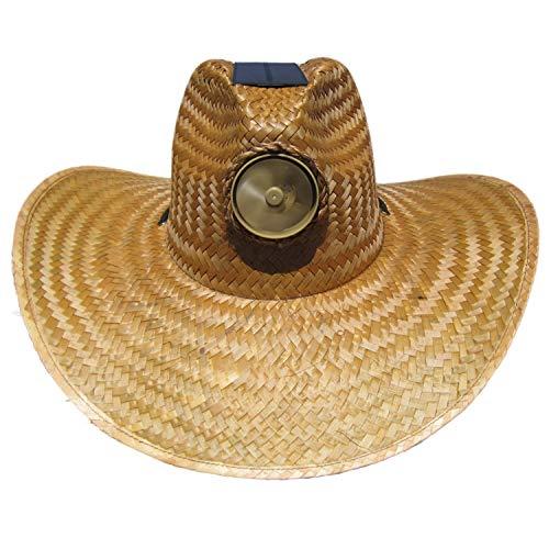 Kool Breeze Solar Cooling Hat - Plain Gentleman (Brown) (Large)