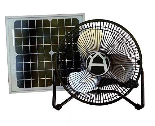 Western Harmonics Solar Powered 10 Watt Fan Kit