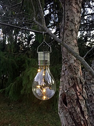 Industrial Rewind Hanging Solar Light Bulb with S Hook (1)