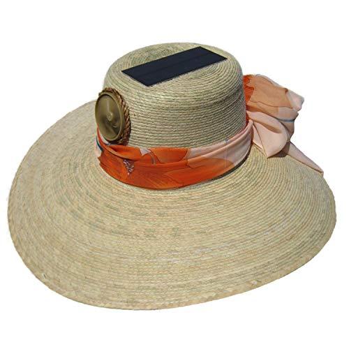 Kool Breeze Lady's Floppy Solar Straw Hat w. Starter Scarf LF3010005 Sun Protection, One Size, Light...