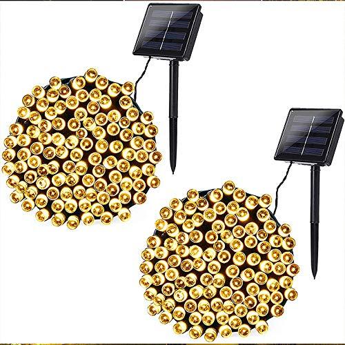 Esky Solar Fairy String Lights, 55ft 100 LED Solar Led String Light, Outdoor Solar Powered...