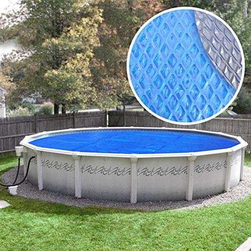 Robelle 24S-10SBD Box Space Age Pool Solar Cover, 24 ft. Round