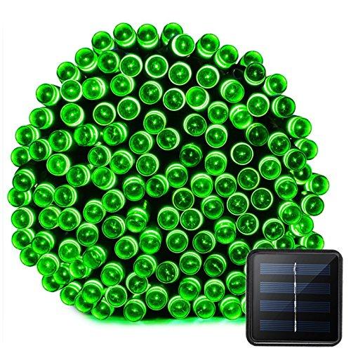 VMANOO Solar Christmas Lights 72ft 22m 200 LED 8 Modes Solar Fairy String Lights for Outdoor,...