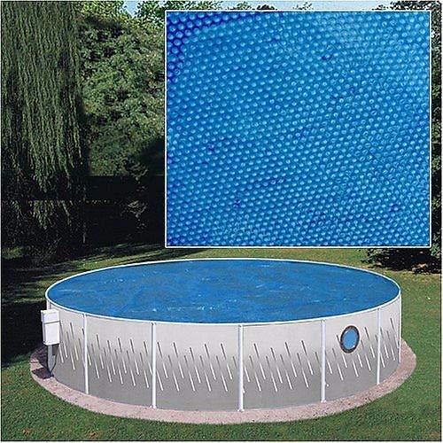 XtremepowerUS Round Pool Solar Cover Blanket Tarp 12-mil 24' x 24'