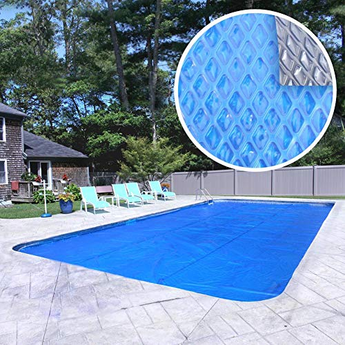 Pool Mate 1836RS-8SBD BOXPM Deluxe Solar Blanket for In-Ground Pools, 18' x 36' Rectangle Pool,...