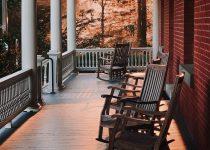 solar porch lights
