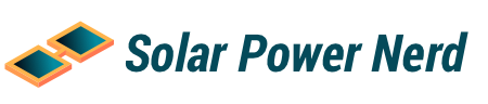 solar power nerd logo