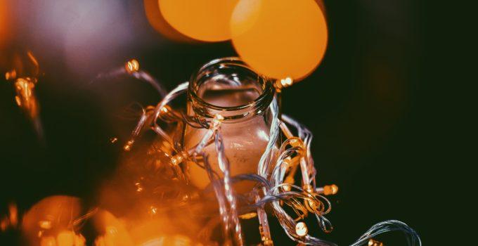 solar power mason jar lights
