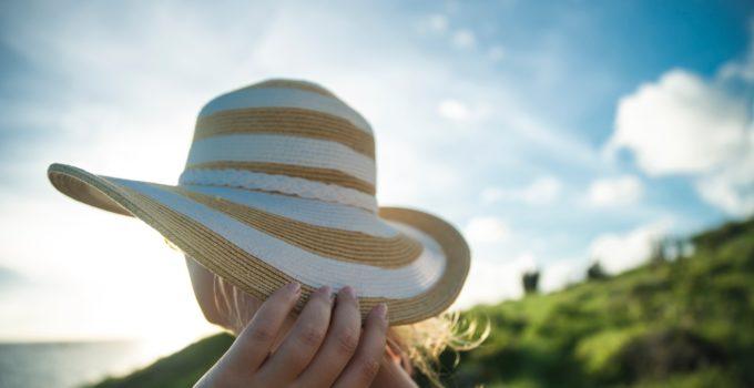 solar powered fan hats